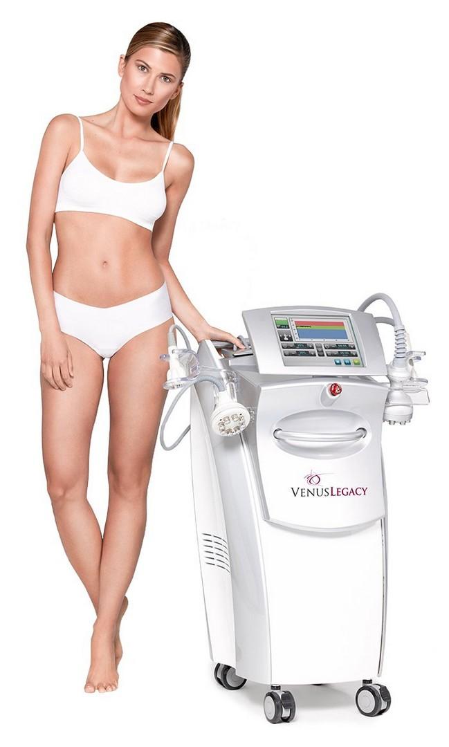 Апаратът Venus Legacy е новият стандарт в естетичната медицина, обединяващ три технологии в една за премахване на целулит с дълготрайни резултати